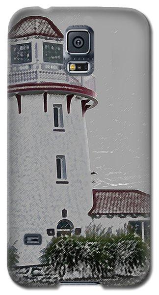 Brigantine Lighthouse Galaxy S5 Case by Trish Tritz