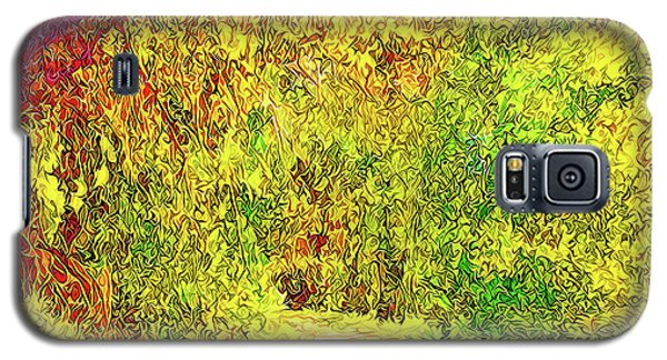 Galaxy S5 Case featuring the digital art Bright Afternoon Pathway - Trail In Santa Monica Mountains by Joel Bruce Wallach