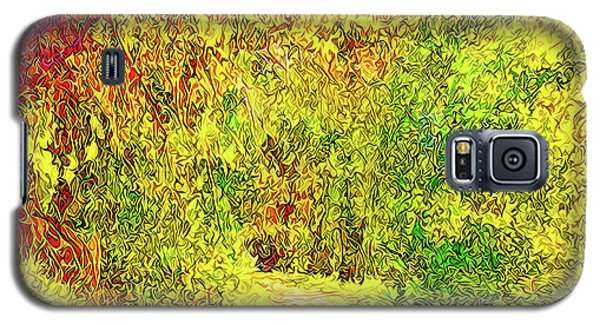 Bright Afternoon Pathway - Trail In Santa Monica Mountains Galaxy S5 Case by Joel Bruce Wallach