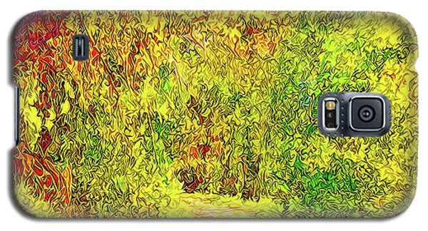 Bright Afternoon Pathway - Trail In Santa Monica Mountains Galaxy S5 Case