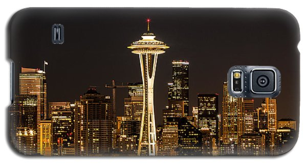 Bright At Night - Space Needle Galaxy S5 Case