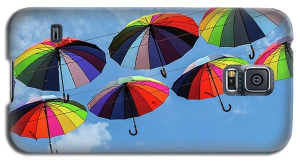 Bright Colorful Umbrellas  Galaxy S5 Case