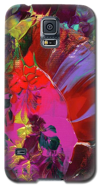 Bright Flaming Sun Flares Galaxy S5 Case
