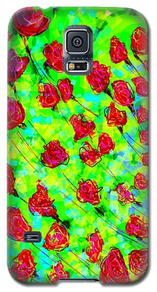 Bright Galaxy S5 Case by Khushboo N