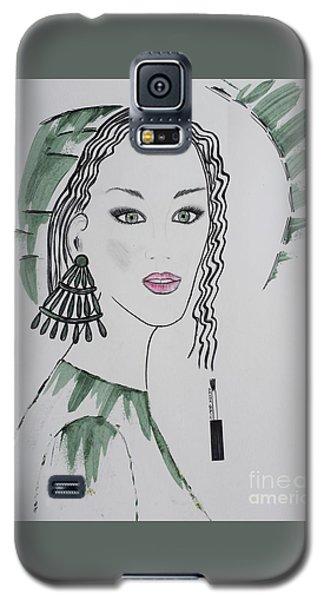 Bright Lady Galaxy S5 Case