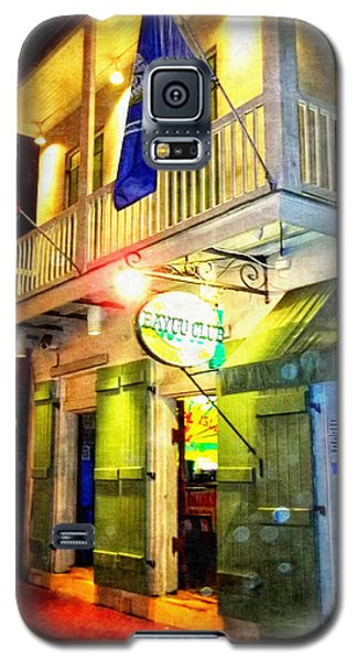 Galaxy S5 Case featuring the photograph Bright Lights In The French Quarter by Glenn McCarthy Art and Photography