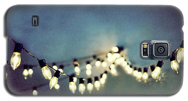 Galaxy S5 Case featuring the photograph Bright Lights by Rebecca Cozart