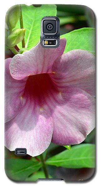 Bright Mandevillia Galaxy S5 Case