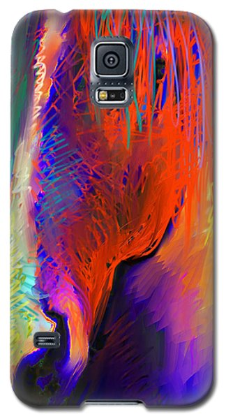 Bright Mustang Horse Galaxy S5 Case