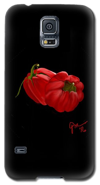 Bright Red Peppers Galaxy S5 Case