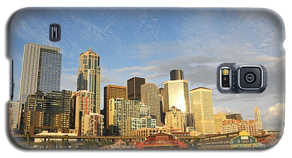 Bright Skies Over Seattle Galaxy S5 Case