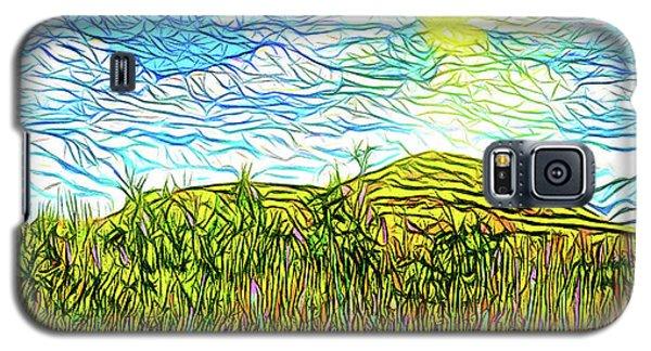 Bright Sky Summer - Field In Boulder County Colorado Galaxy S5 Case