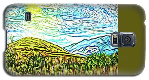 Bright Sky Summer - Field In Boulder County Colorado Galaxy S5 Case by Joel Bruce Wallach