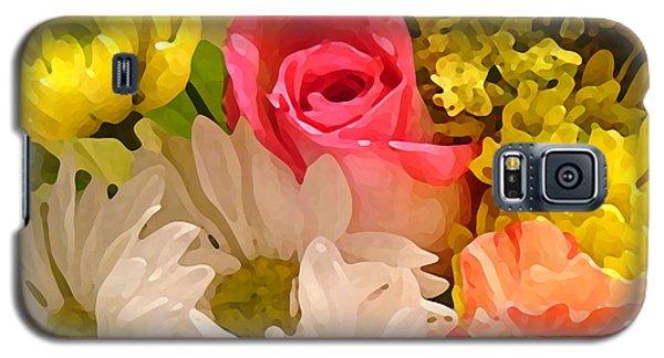 Bright Spring Flowers Galaxy S5 Case