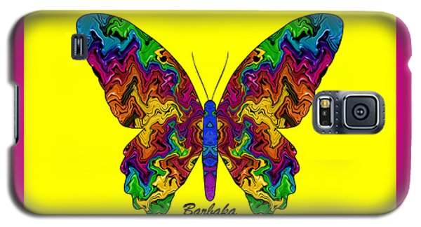 Galaxy S5 Case featuring the digital art Bright Transformation by Barbara Tristan
