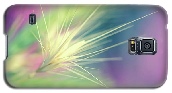 Galaxy S5 Case - Bright Weed by Terry Davis