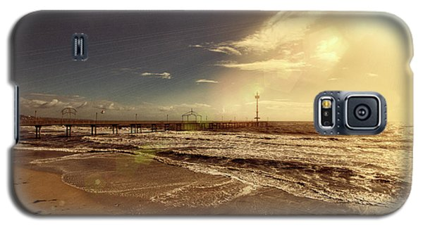 Galaxy S5 Case featuring the photograph Brighton Beach Pier by Douglas Barnard