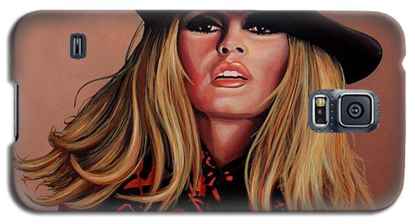 Brigitte Bardot Painting 1 Galaxy S5 Case