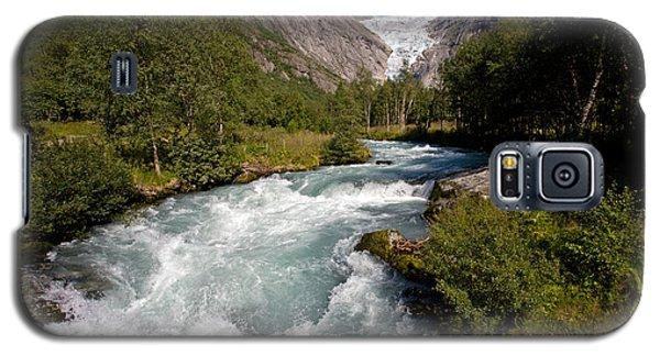 Briksdal Glacier Melting Waters Galaxy S5 Case