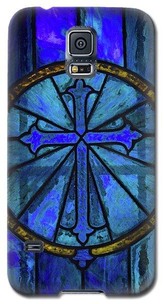 Brillant Blue Galaxy S5 Case by Rowana Ray