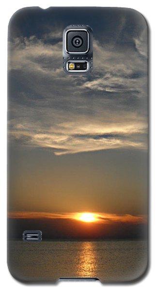 Brilliant Blue Sky Galaxy S5 Case