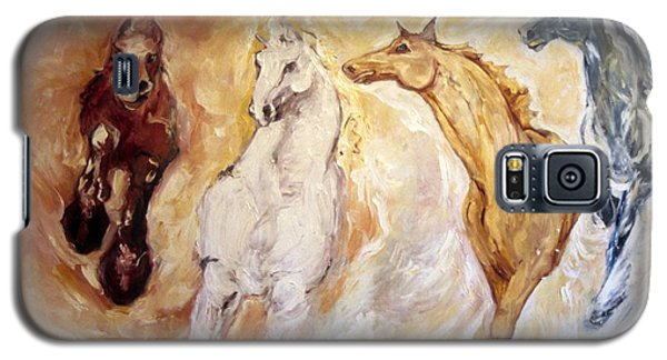 Bringers Of The Dawn Section Of Mural Galaxy S5 Case