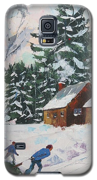 Bringing In The Tree Galaxy S5 Case