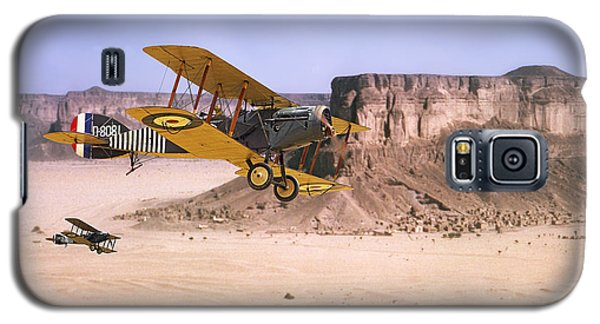 Galaxy S5 Case featuring the photograph Bristol Fighter - Aden Protectorate  by Pat Speirs