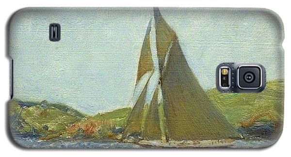 Galaxy S5 Case featuring the painting Britannia by Henry Scott Tuke