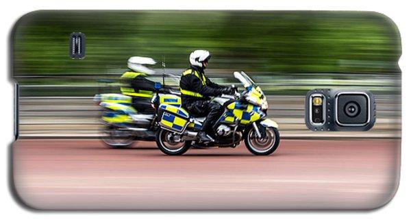 British Police Motorcycle Galaxy S5 Case