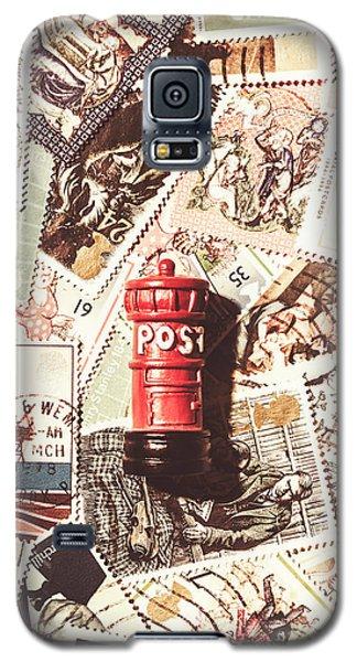 British Post Box Galaxy S5 Case by Jorgo Photography - Wall Art Gallery