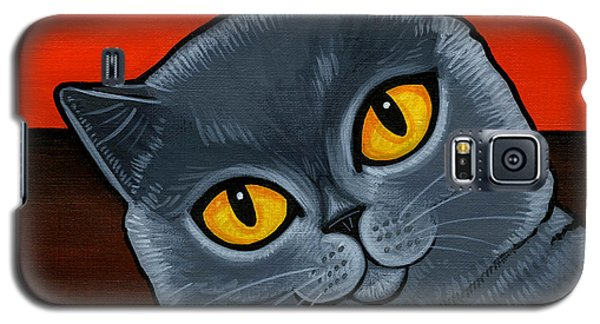British Shorthair Galaxy S5 Case