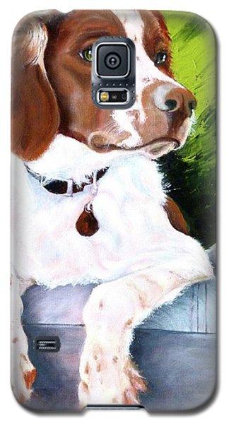 Brittany Spaniel Galaxy S5 Case
