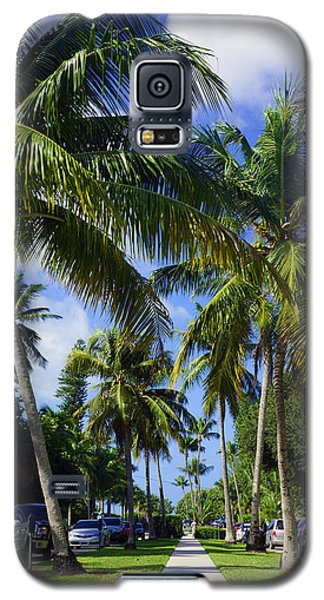 Broad Avenue South, Old Naples Galaxy S5 Case by Robb Stan