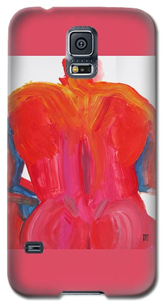 Broad Back Red Galaxy S5 Case by Shungaboy X