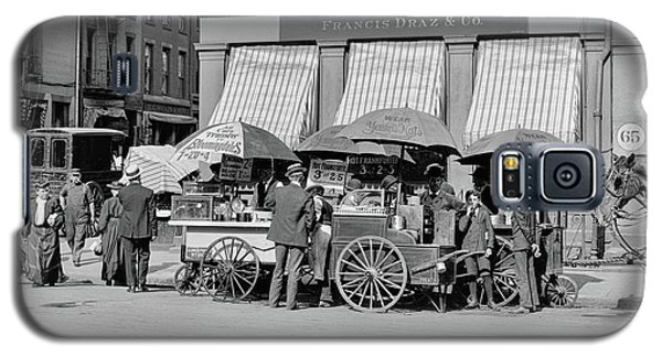 Broad St. Lunch Carts New York Galaxy S5 Case