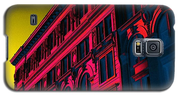 Broadway 118 In Fuschia Galaxy S5 Case by Edgar Farrera