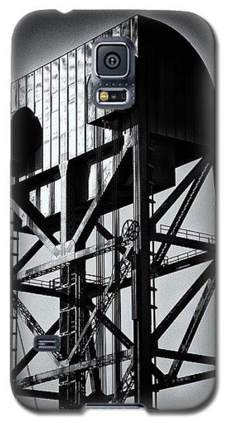 Broadway Bridge South Tower Detail 1 Monochrome Galaxy S5 Case