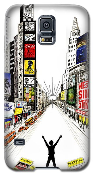 Broadway Dreamin' Galaxy S5 Case