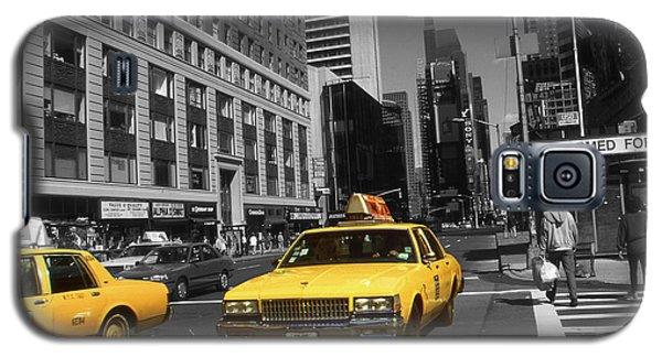 New York Yellow Taxi Cabs - Highlight Photo Galaxy S5 Case