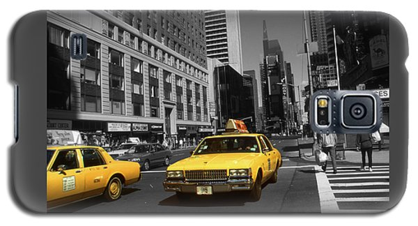 New York Yellow Taxi Cabs - Highlight Photo Galaxy S5 Case