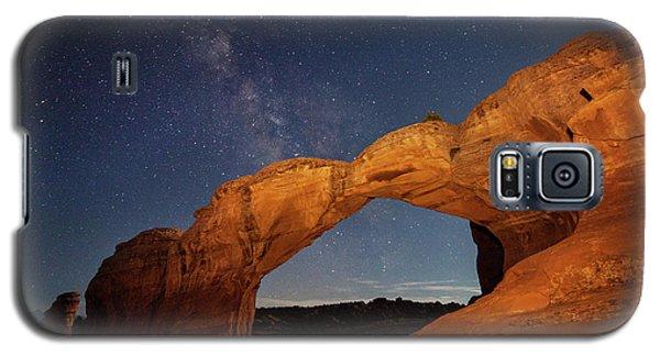 Broken Arch And Milky Way Galaxy S5 Case