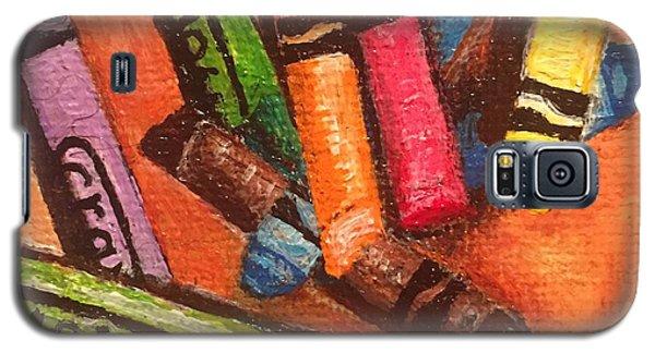 Broken Crayons Galaxy S5 Case
