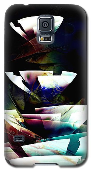 Galaxy S5 Case featuring the digital art Broken Glass by Anastasiya Malakhova