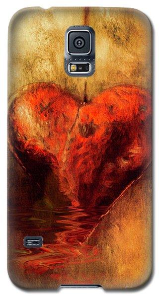 Broken Hearted Galaxy S5 Case