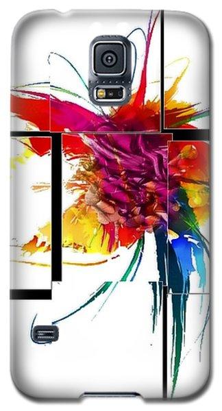 Broken Pattern By Nico Bielow Galaxy S5 Case
