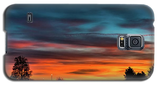 Broncos Sunset In Denver Galaxy S5 Case