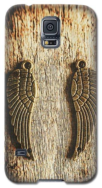 Bronze Angel Wings Galaxy S5 Case