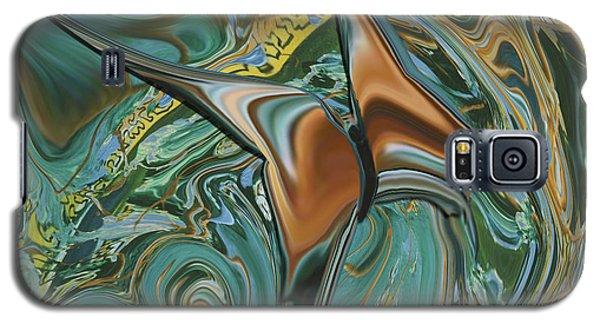 Bronze Butterfly Galaxy S5 Case