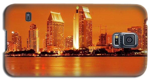 Bronze San Diego Skyline Galaxy S5 Case